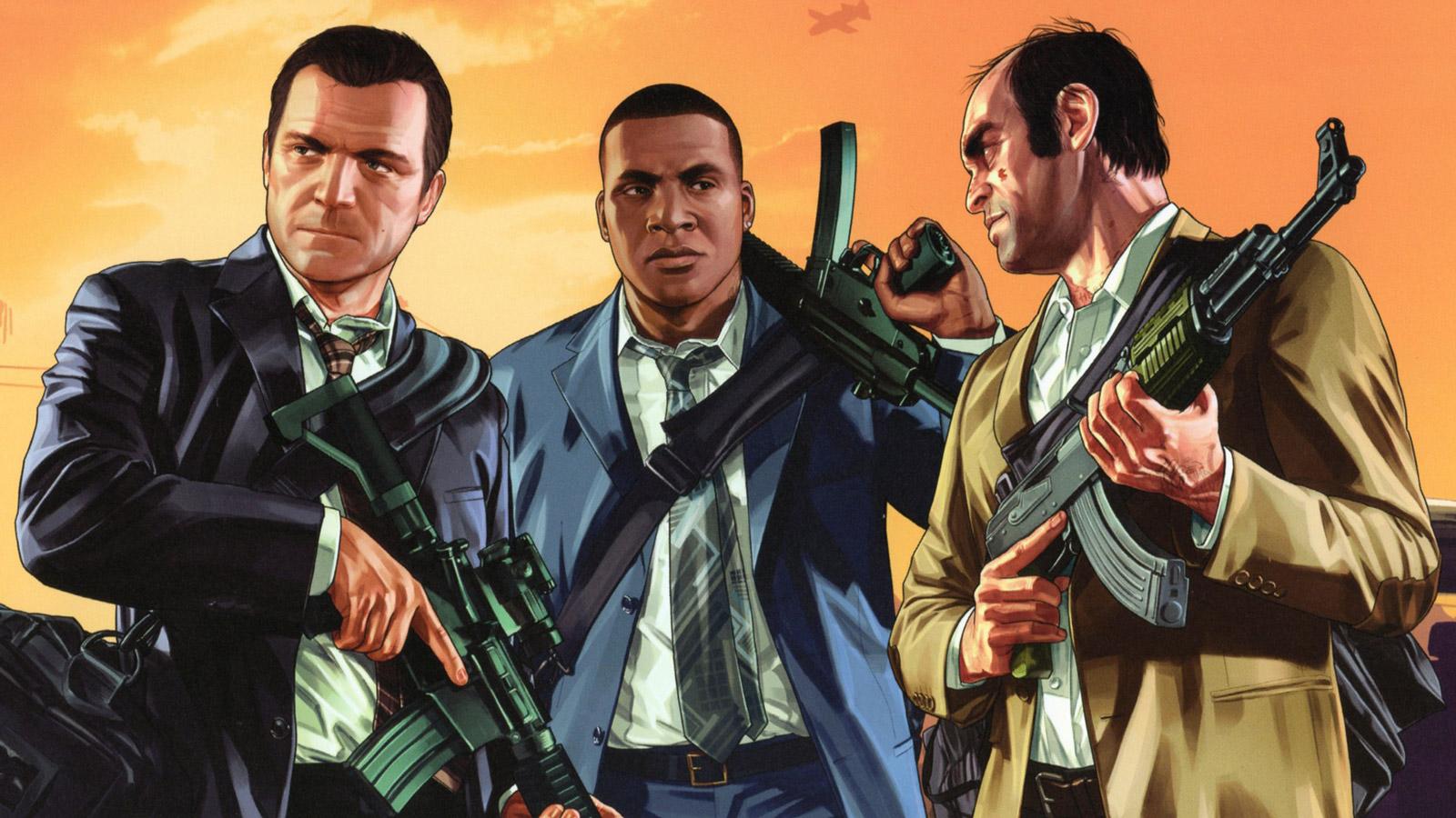 Free Grand Theft Auto V Wallpaper in 1600x900