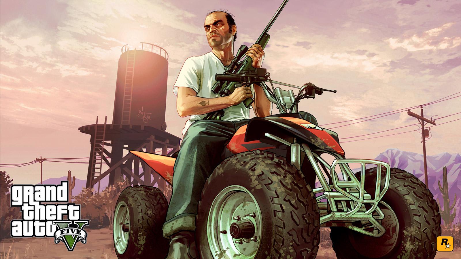 Grand Theft Auto V Wallpaper in 1600x900