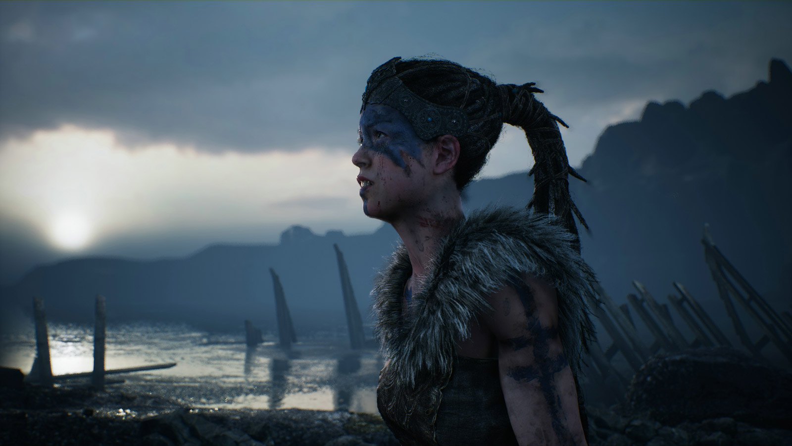 Free Hellblade: Senua's Sacrifice Wallpaper in 1600x900