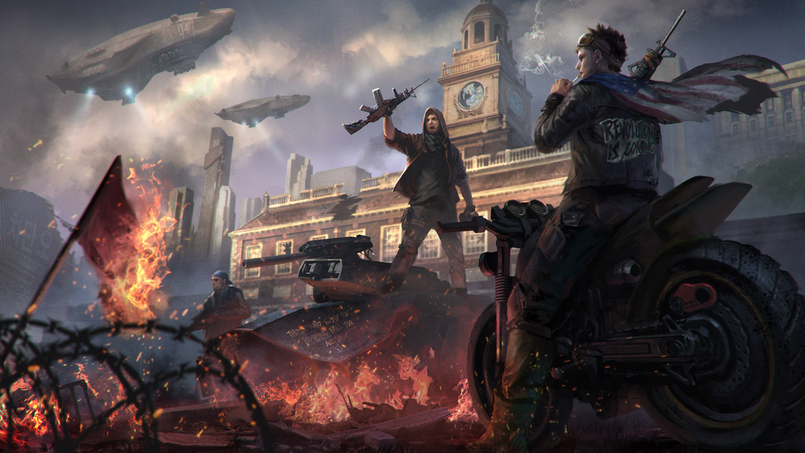 Free Homefront: The Revolution Wallpaper in 1600x900
