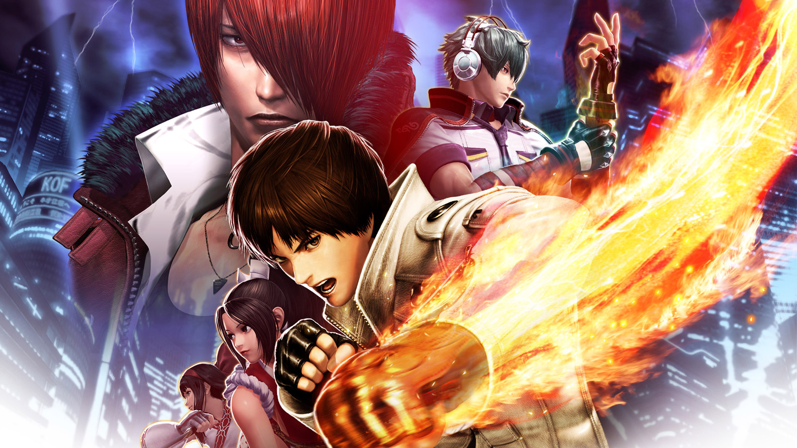 Free The King of Fighters XIV Wallpaper in 1600x900