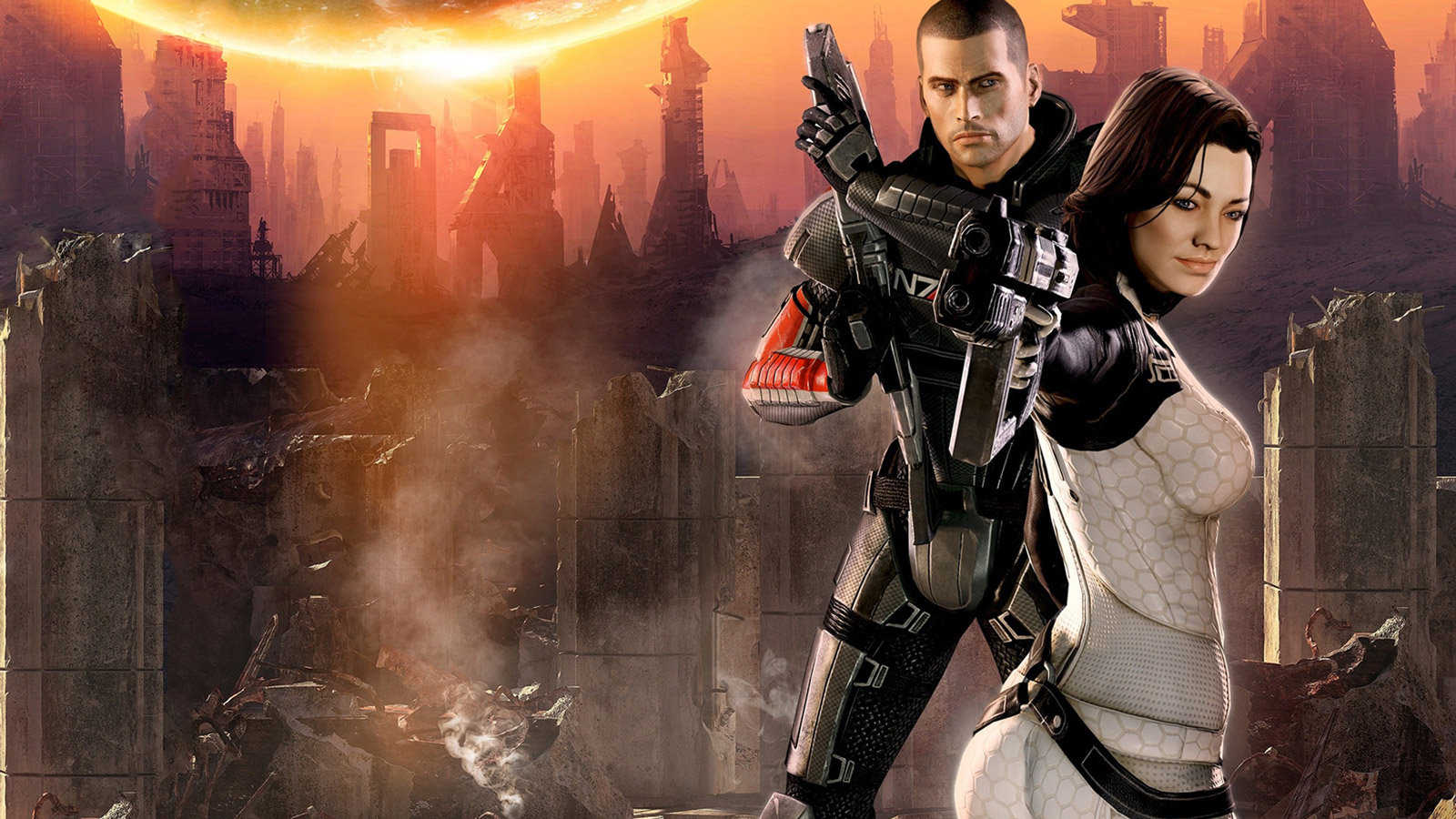 Free Mass Effect 2 Wallpaper in 1600x900