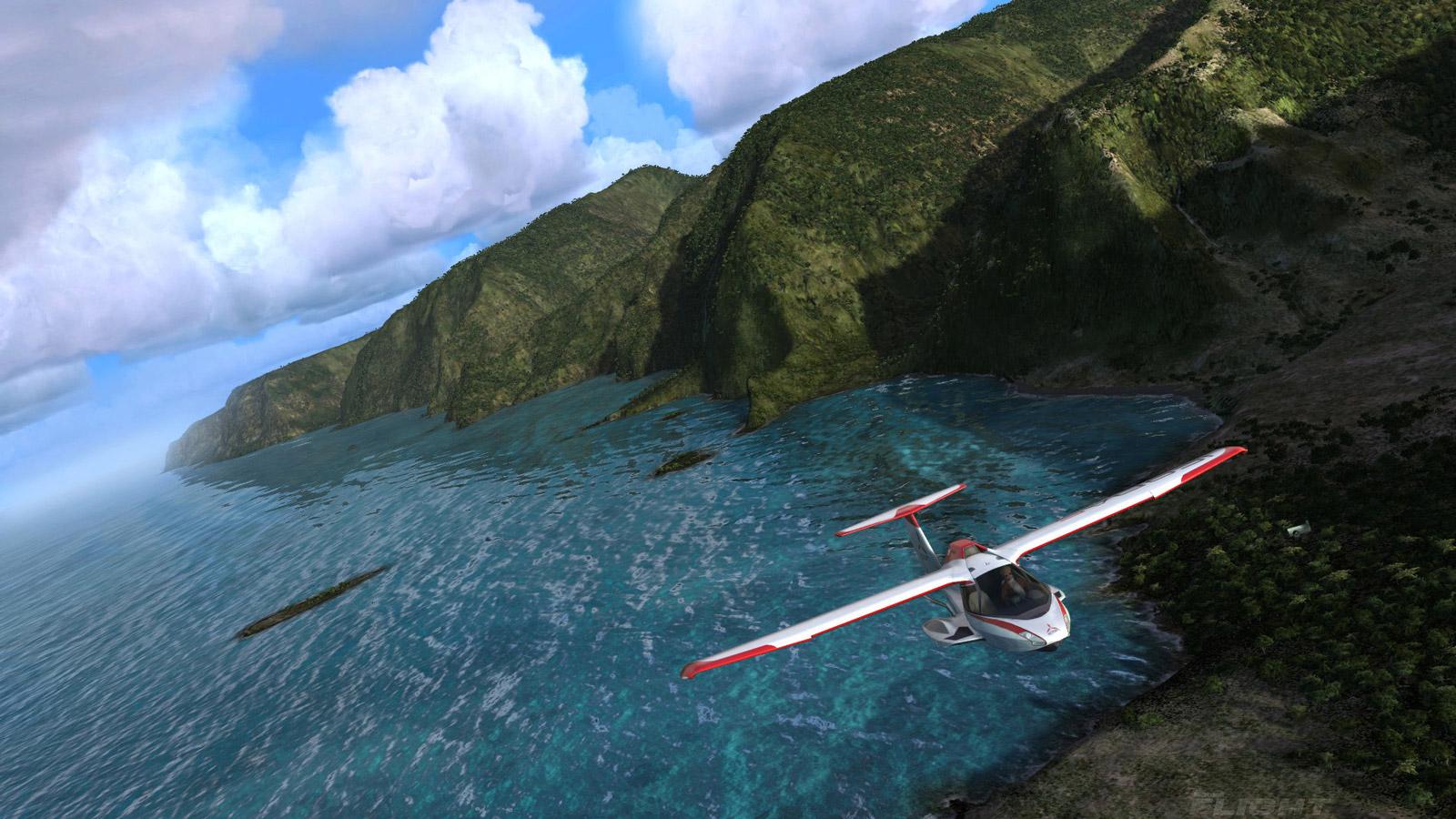 Free Microsoft Flight Wallpaper in 1600x900
