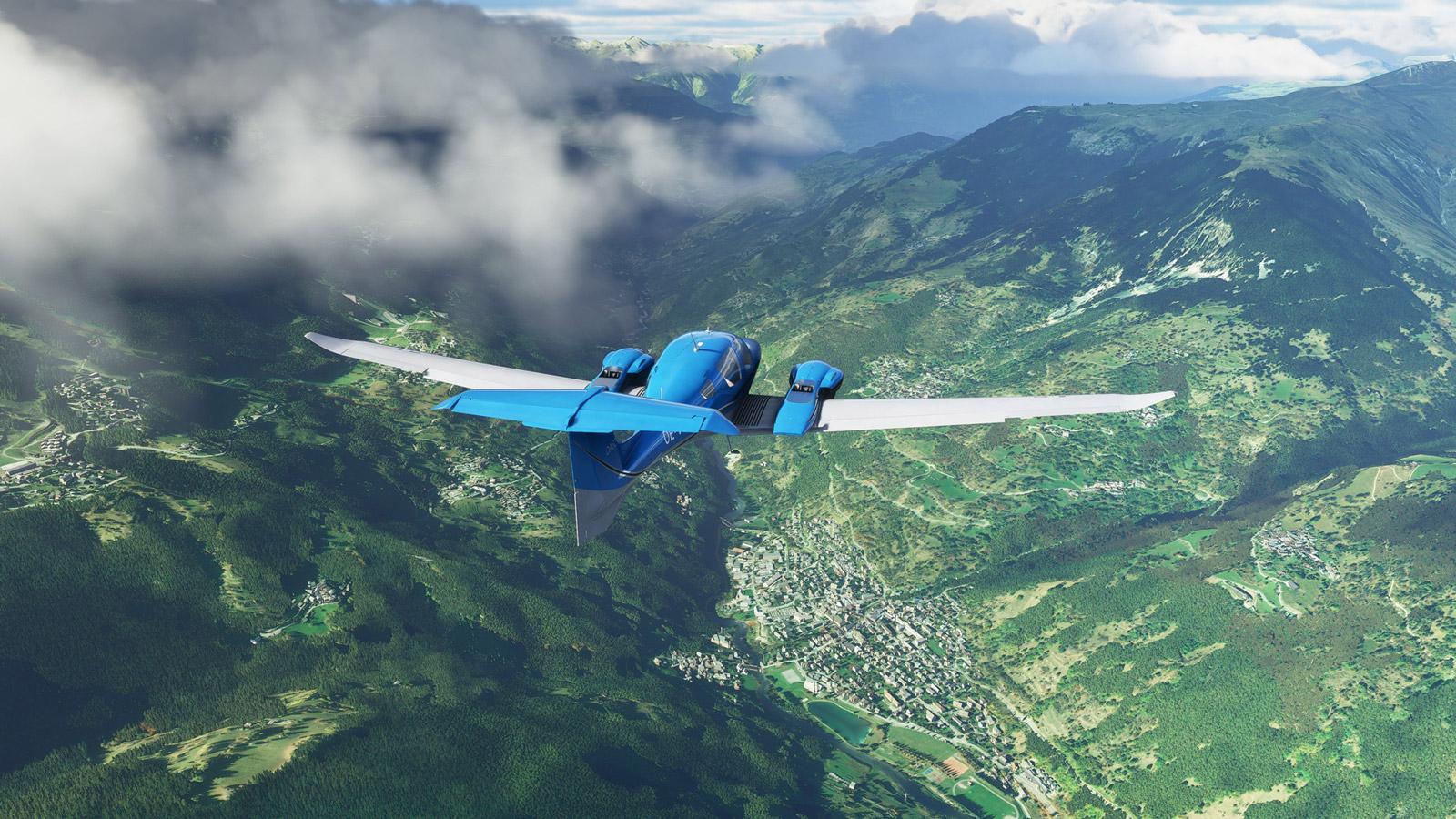 Microsoft Flight Simulator (2020) Wallpaper in 1600x900
