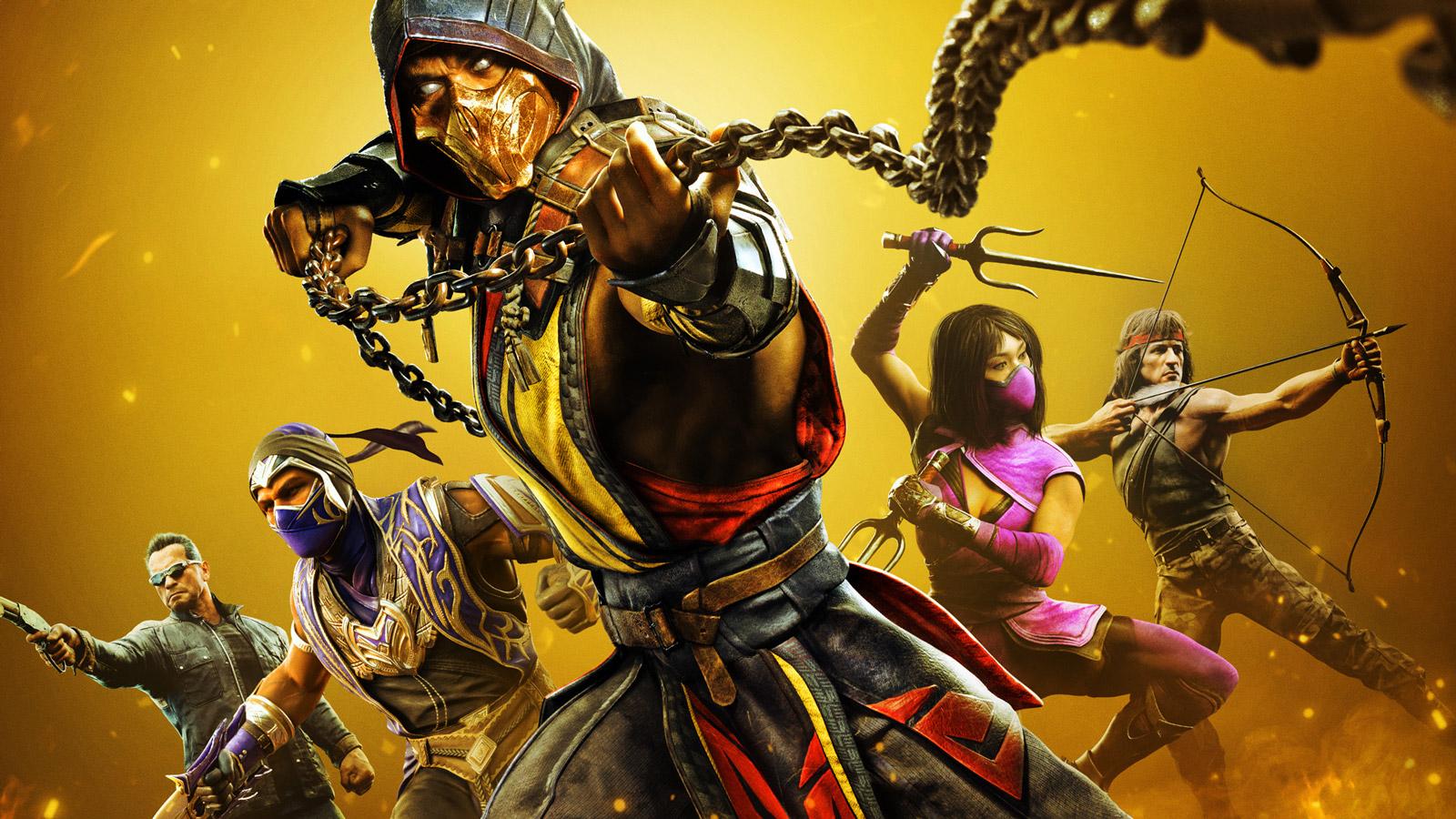Mortal Kombat 11 Wallpaper in 1600x900