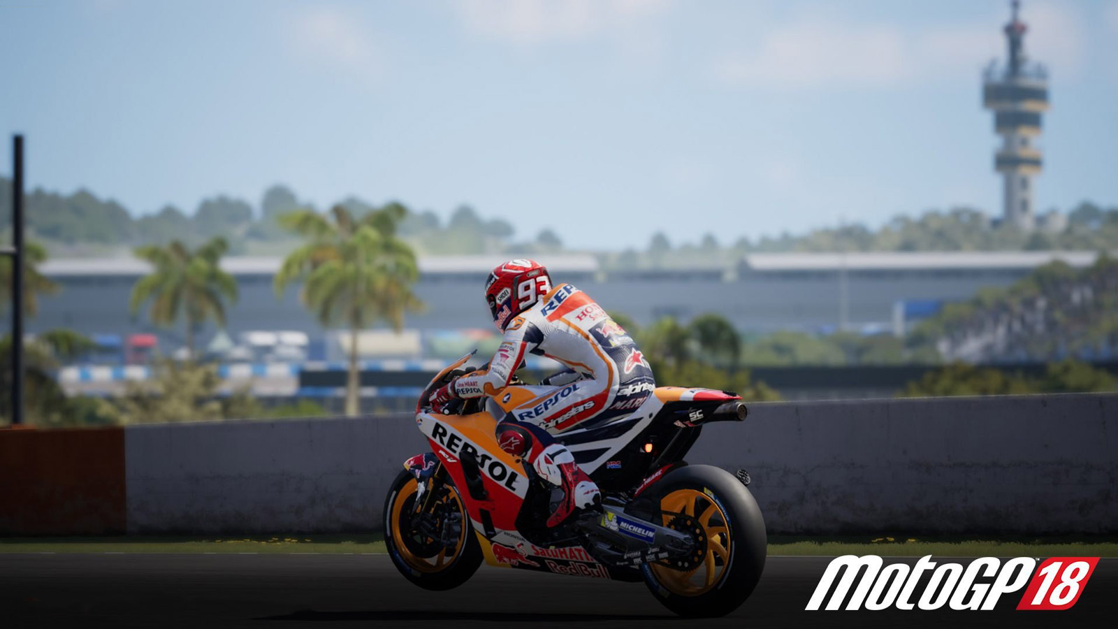 Free MotoGP 18 Wallpaper in 1600x900