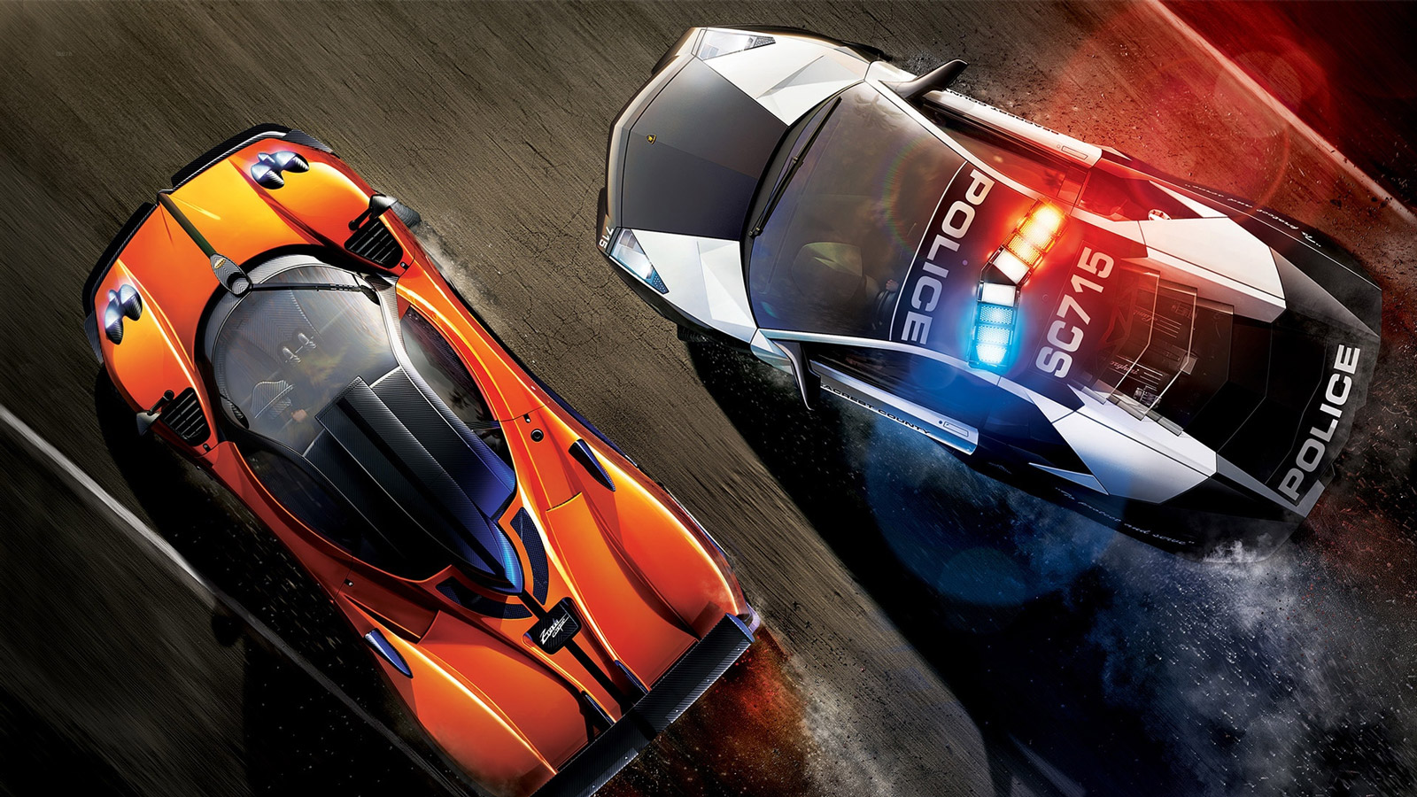 Need for Speed: Hot Pursuit Wallpaper in 1600x900