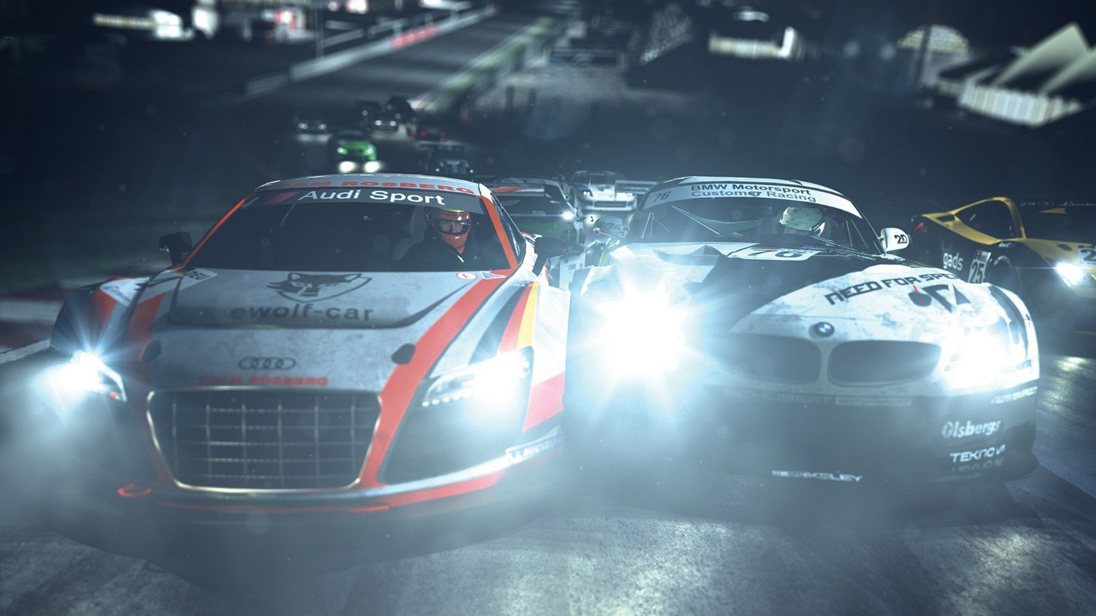 Need for Speed: Shift 2 Unleashed Wallpaper in 1600x900
