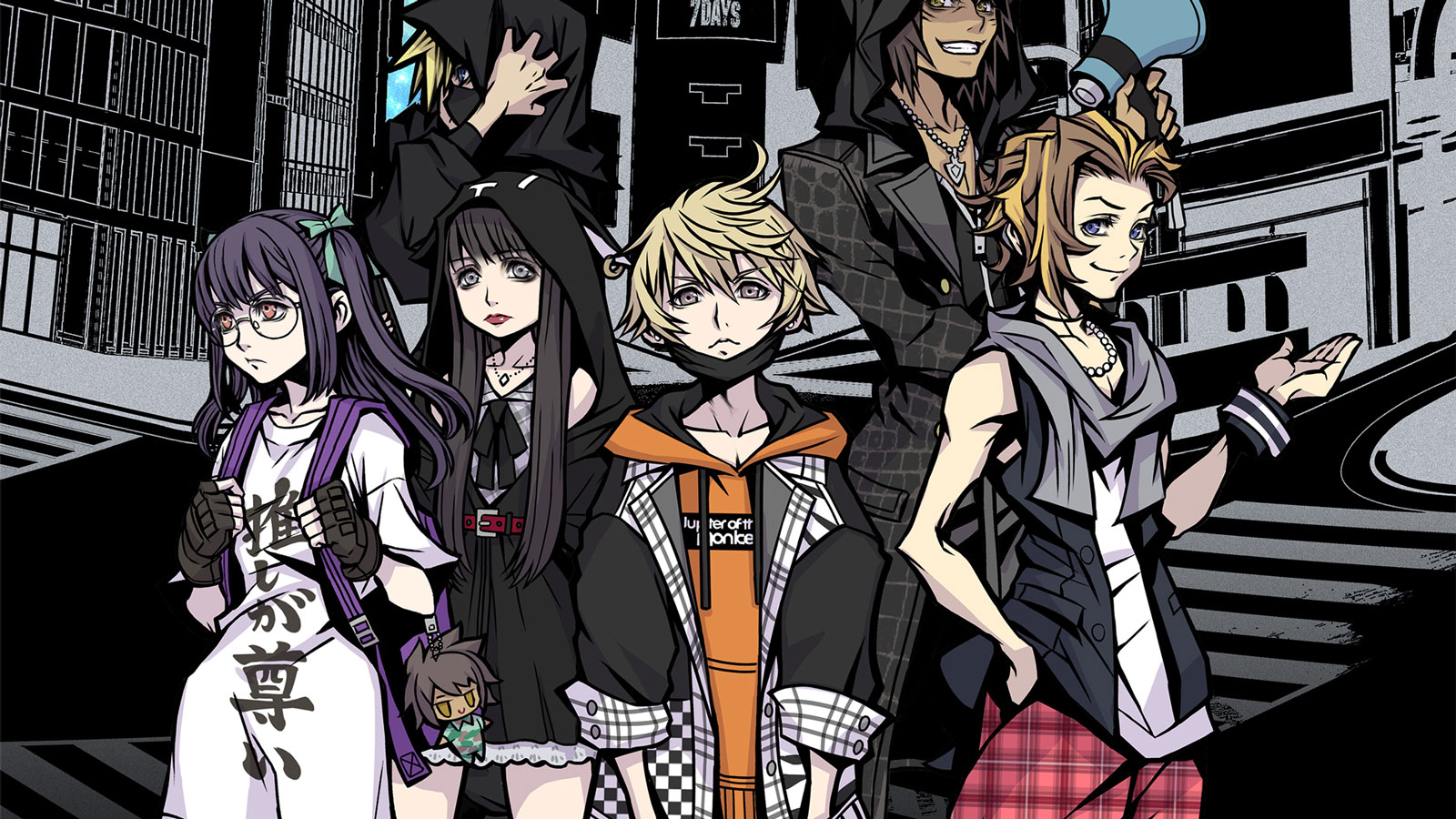 Free NEO: The World Ends with You Wallpaper in 1600x900