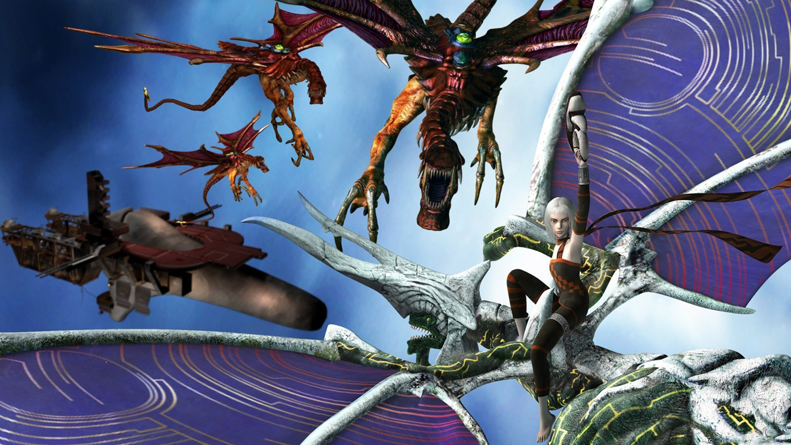 Panzer Dragoon Orta Wallpaper in 1600x900