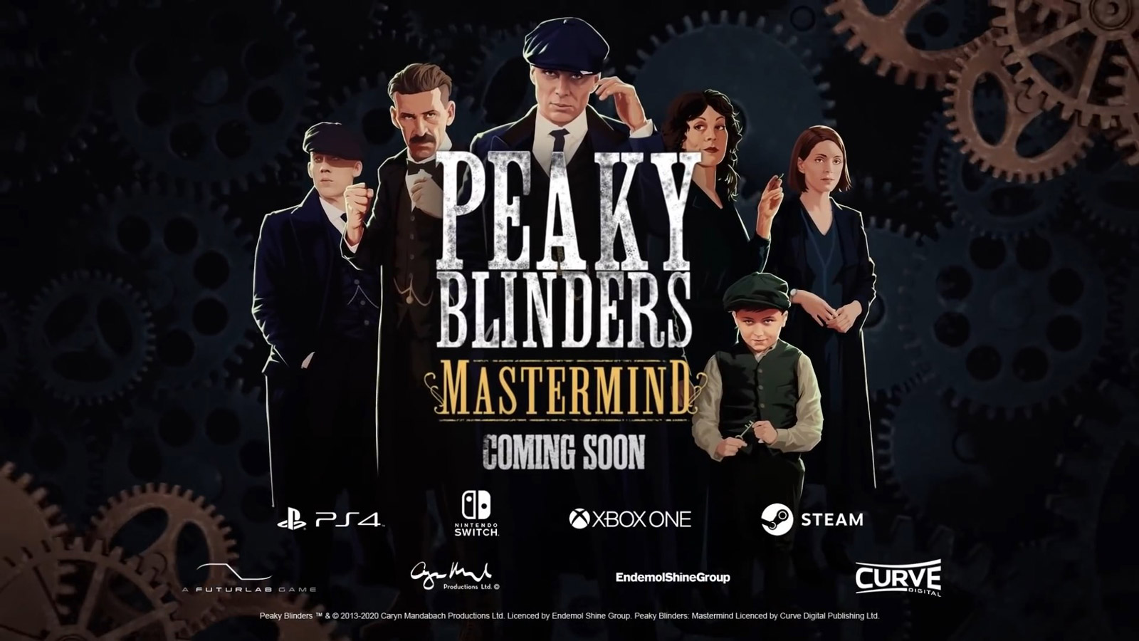 Free Peaky Blinders: Mastermind Wallpaper in 1600x900
