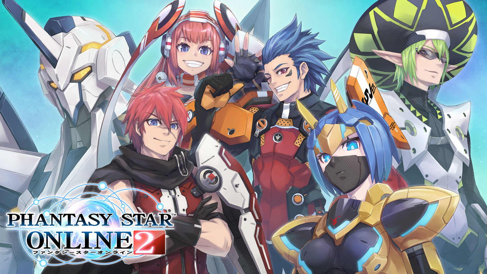 Free Phantasy Star Online 2 Wallpaper in 1600x900