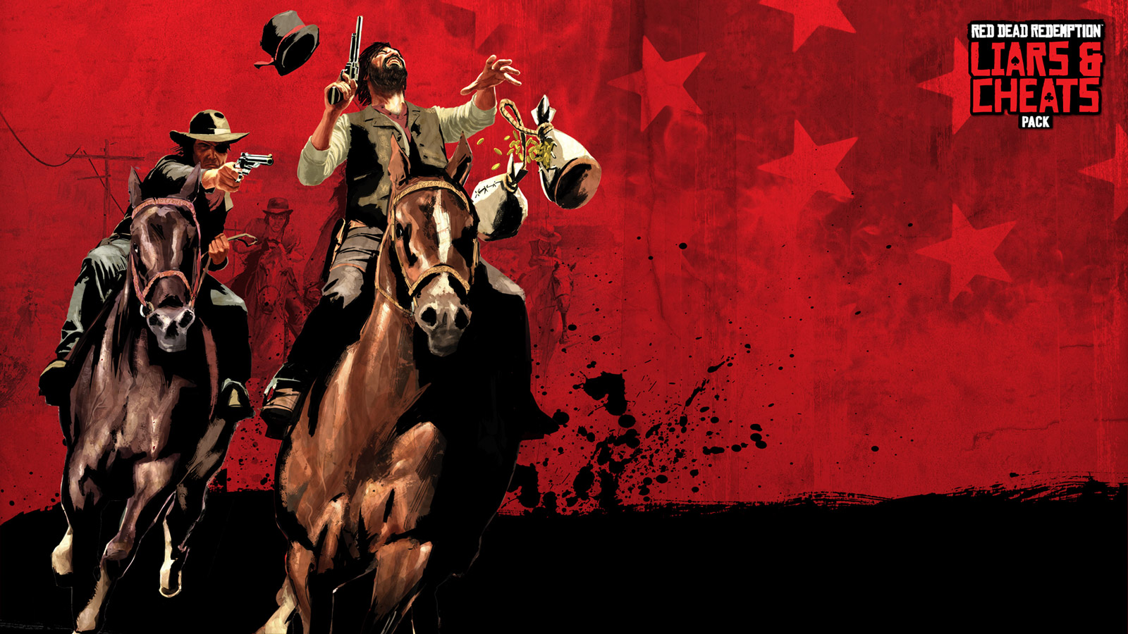 Free Red Dead Redemption Wallpaper in 1600x900