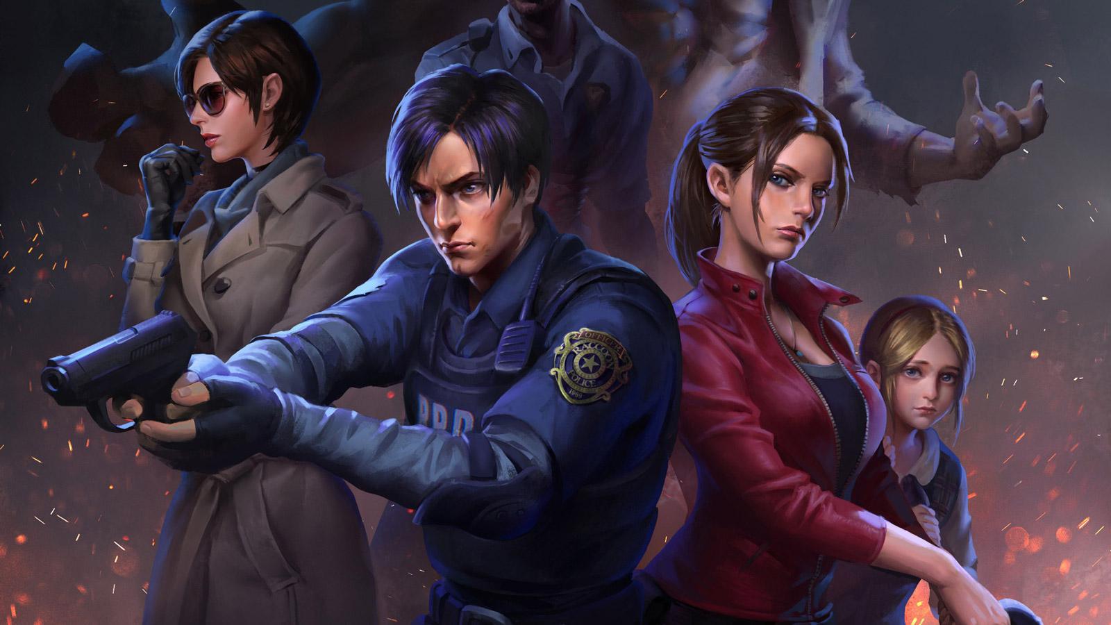 Free Resident Evil 2 Wallpaper in 1600x900