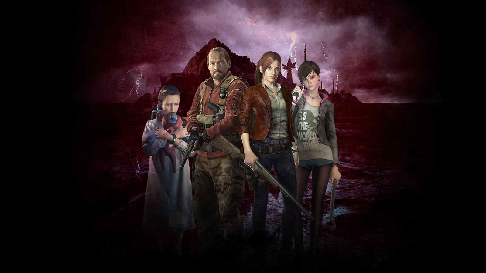 Resident Evil: Revelations 2 Wallpaper in 1600x900