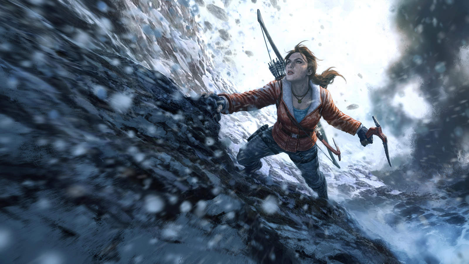 Free Rise of the Tomb Raider Wallpaper in 1600x900