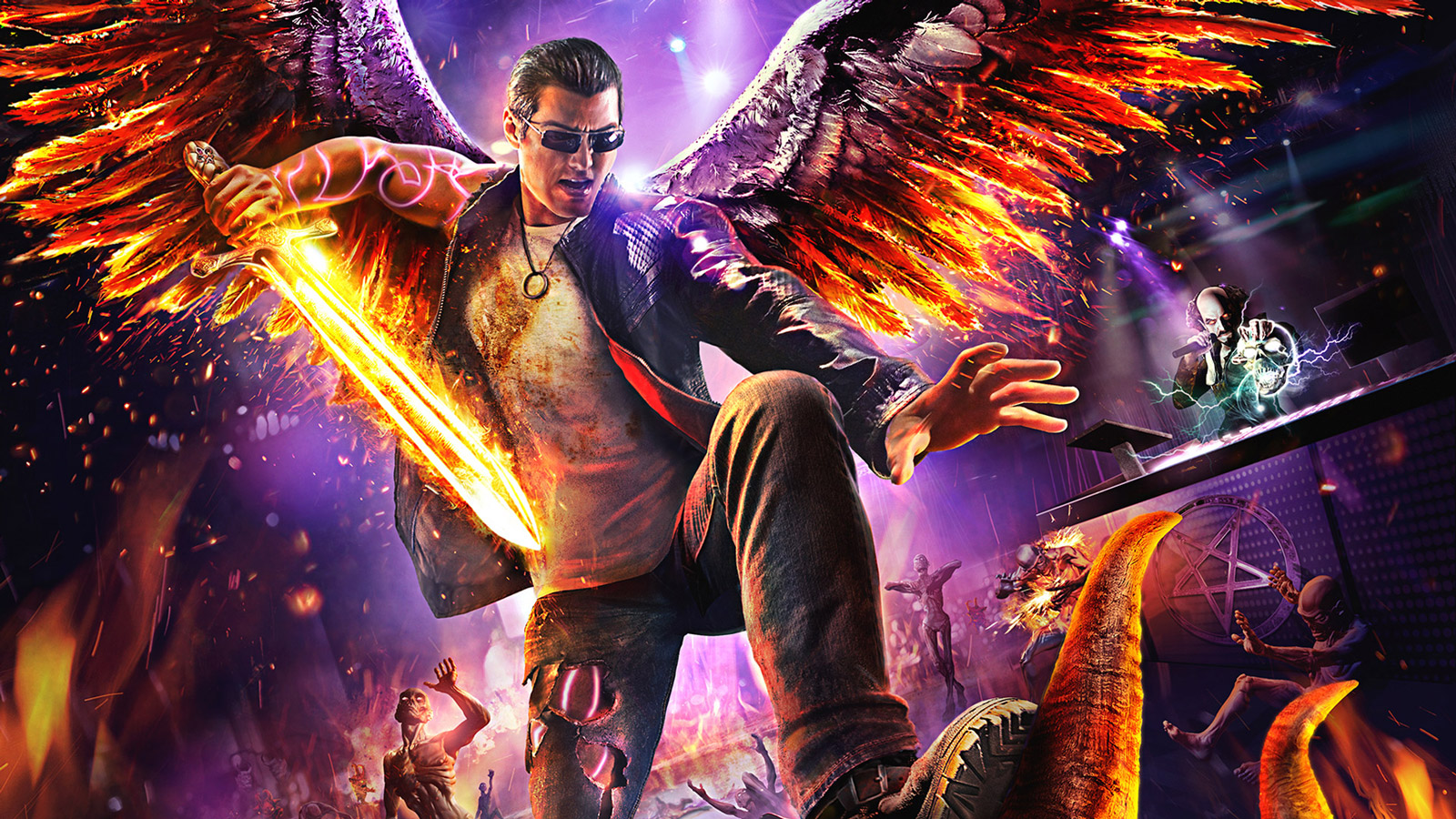 Free Saints Row: Gat Out of Hell Wallpaper in 1600x900