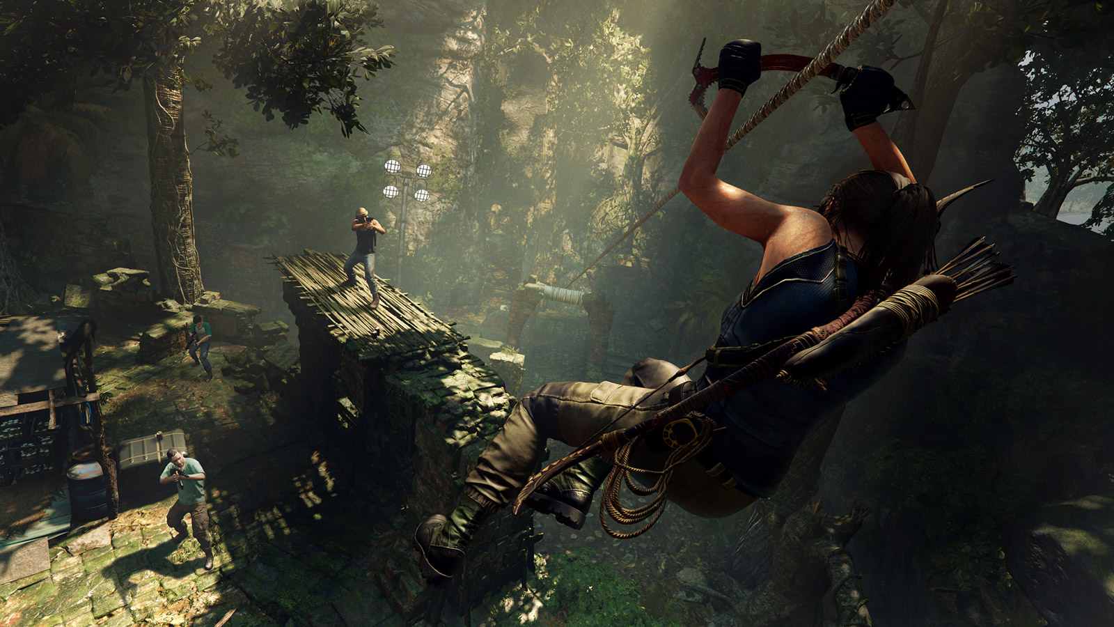 Free Shadow of the Tomb Raider Wallpaper in 1600x900