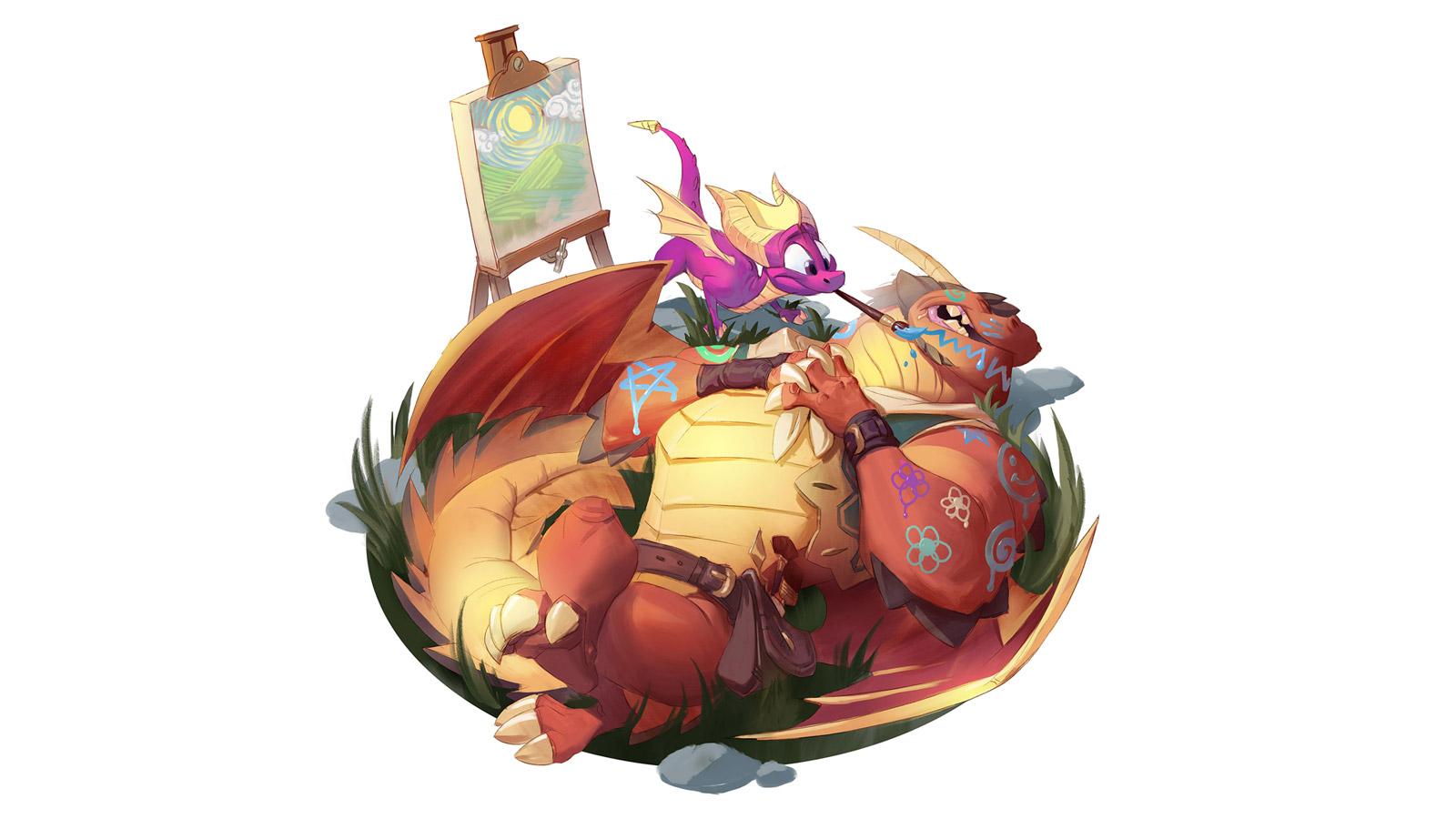 Free Spyro the Dragon Wallpaper in 1600x900
