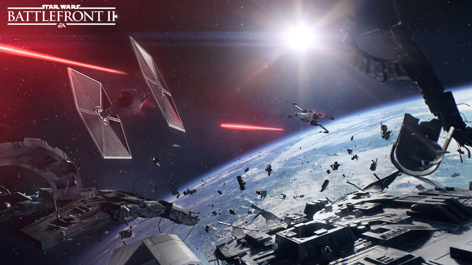 Star Wars: Battlefront II Wallpaper in 1600x900