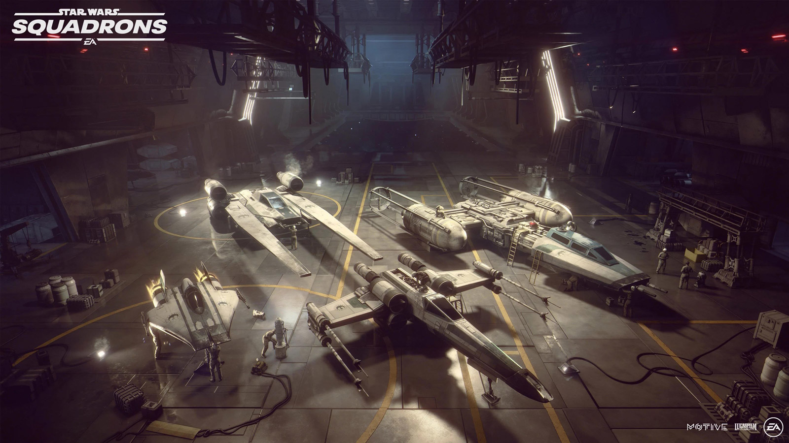 Free Star Wars: Squadrons Wallpaper in 1600x900