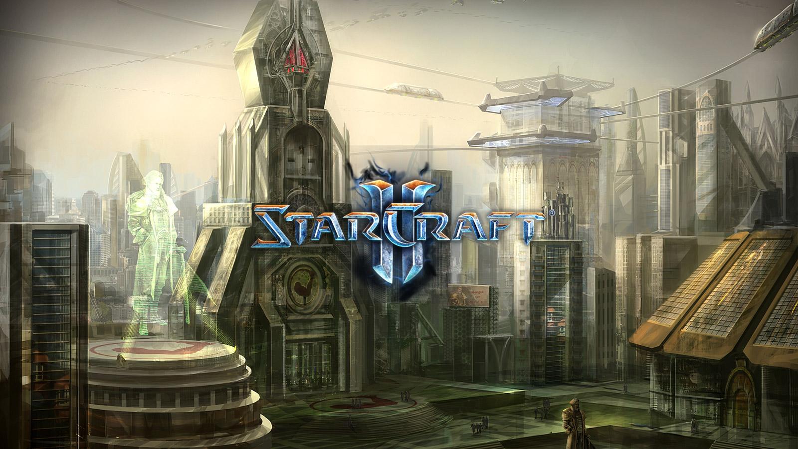 Free Starcraft 2 Wallpaper in 1600x900