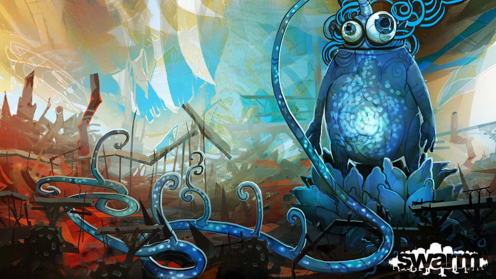 Swarm Wallpaper in 1600x900
