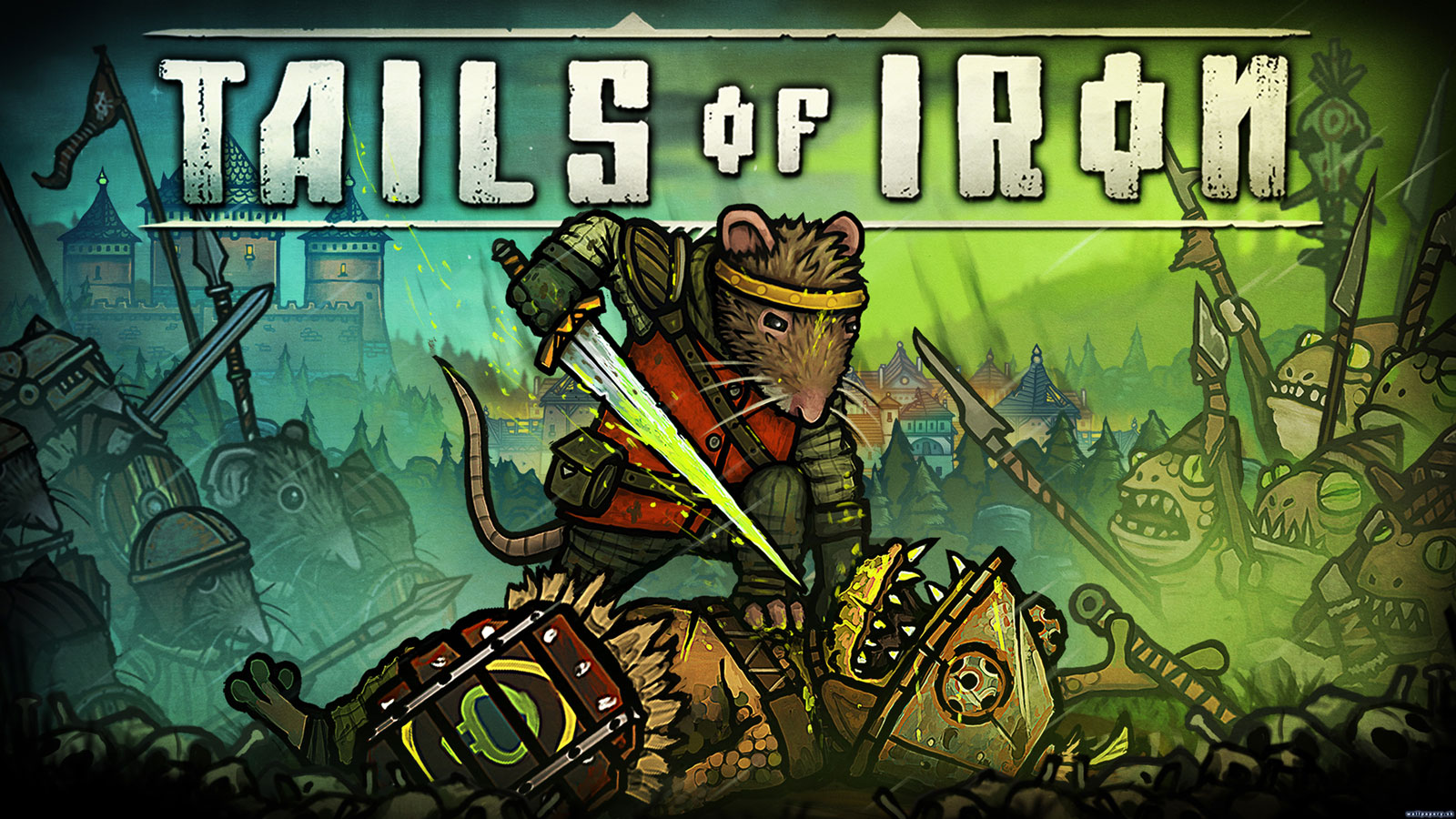 Free Tails of Iron Wallpaper in 1600x900