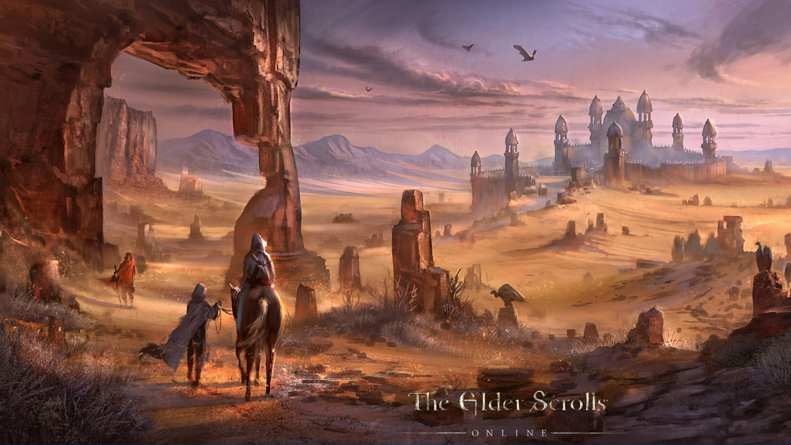 Free The Elder Scrolls Online Wallpaper in 1600x900