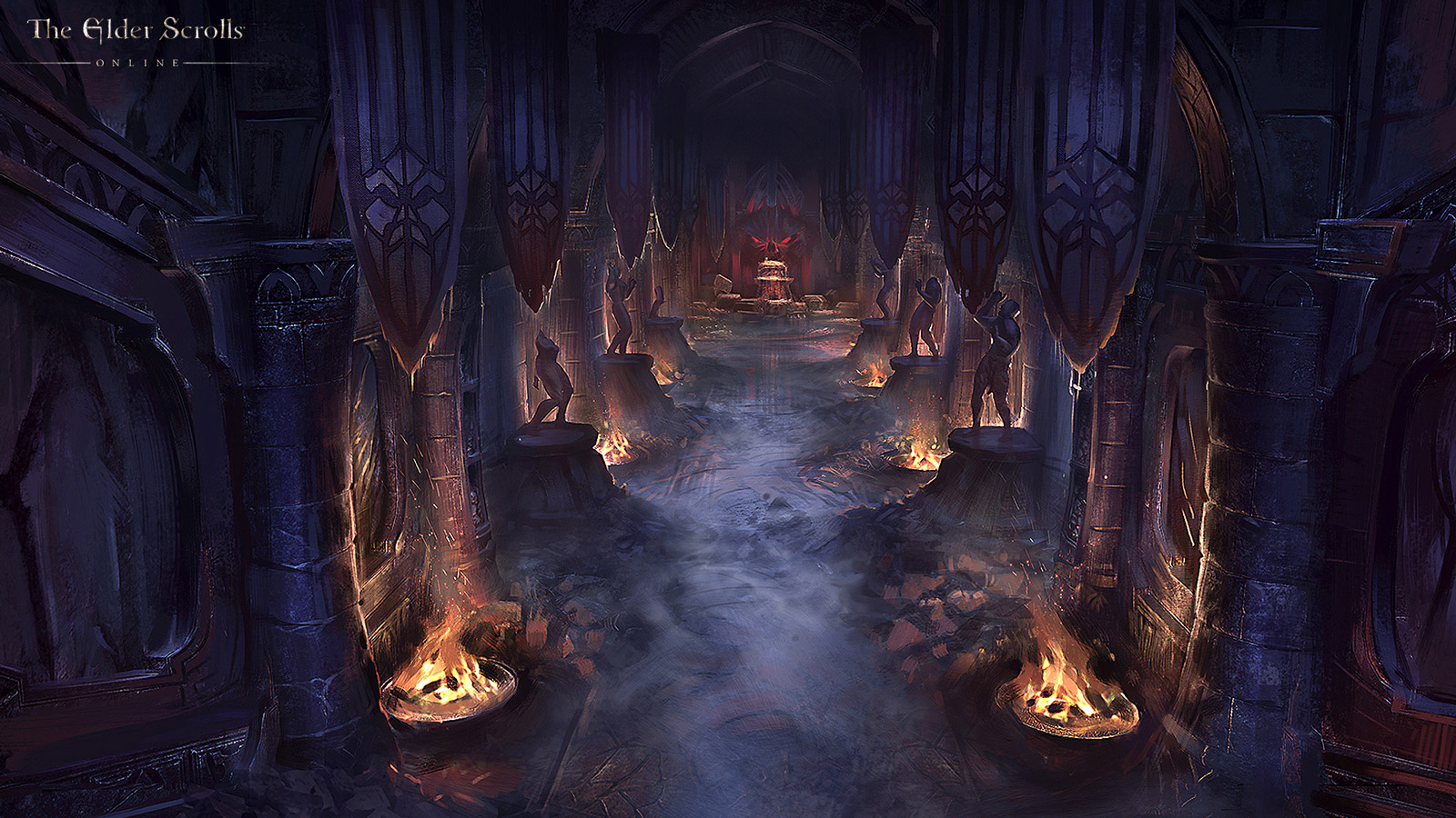 Free The Elder Scrolls Online Wallpaper in 1600x900