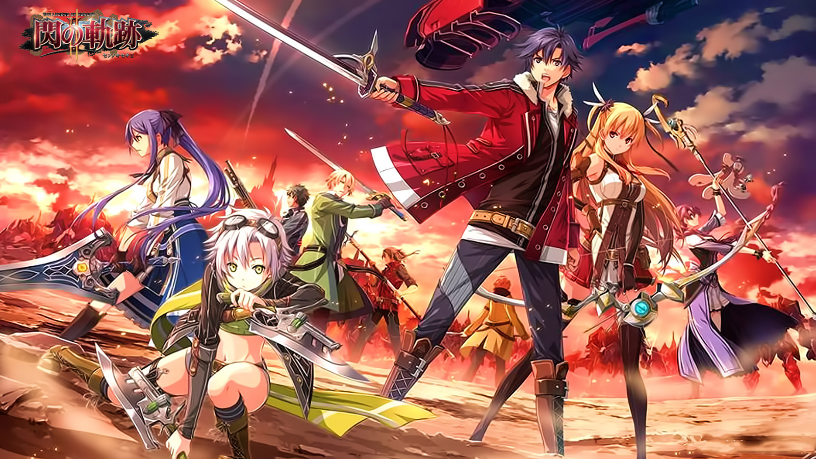 Free The Legend of Heroes: Trails of Cold Steel Wallpaper in 1600x900