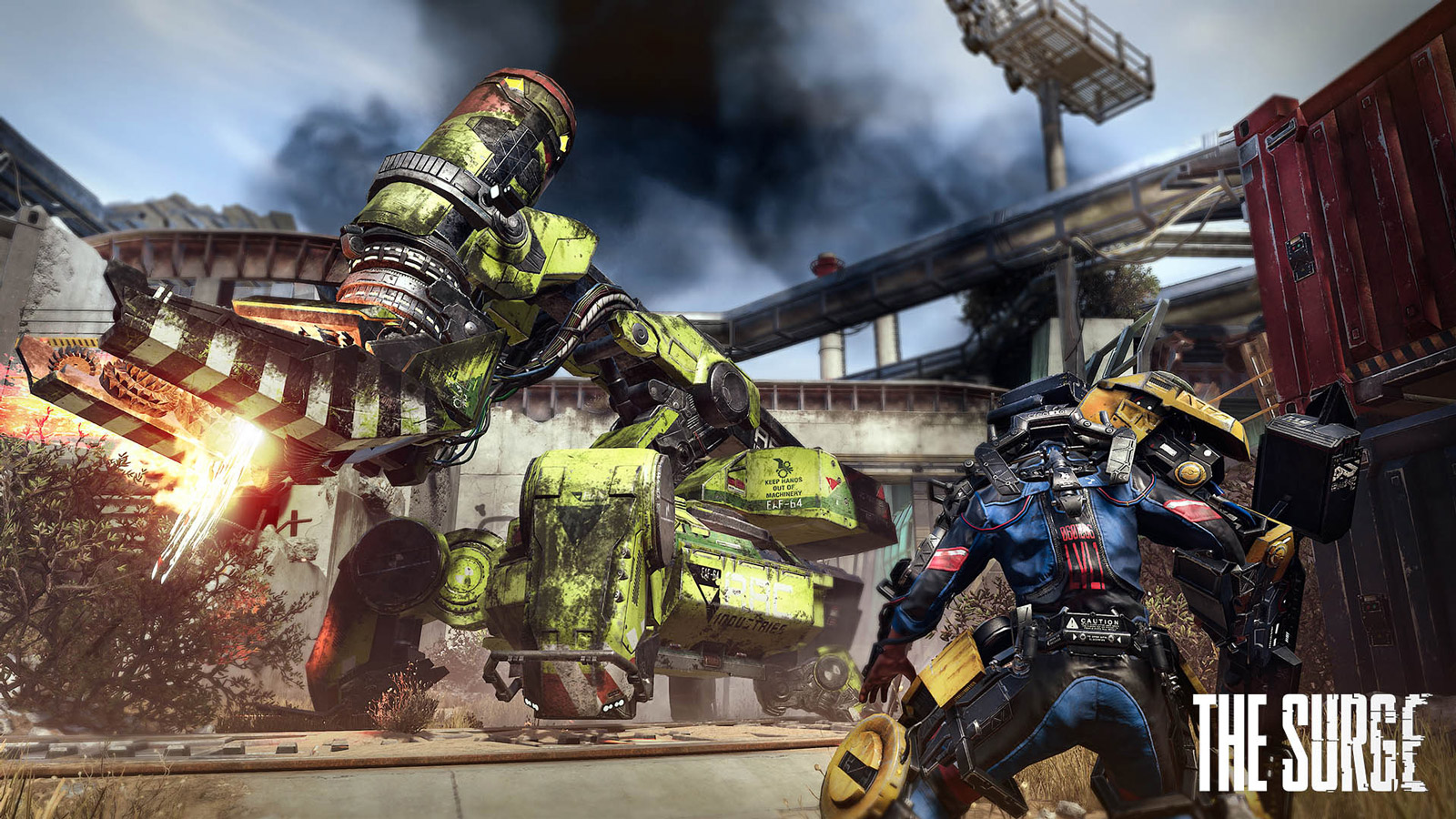 Free The Surge Wallpaper in 1600x900