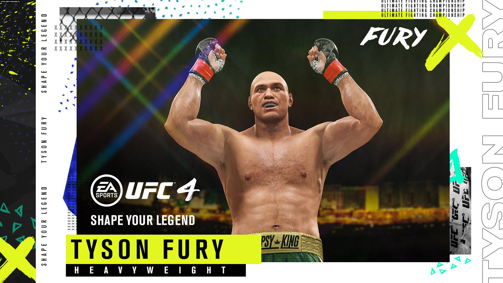 UFC 4 Wallpaper in 1600x900