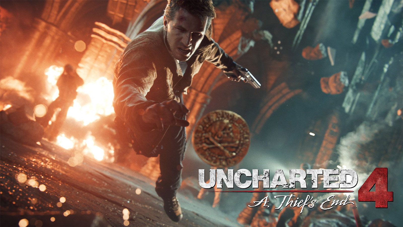 Free Uncharted 4: A Thief's End Wallpaper in 1600x900