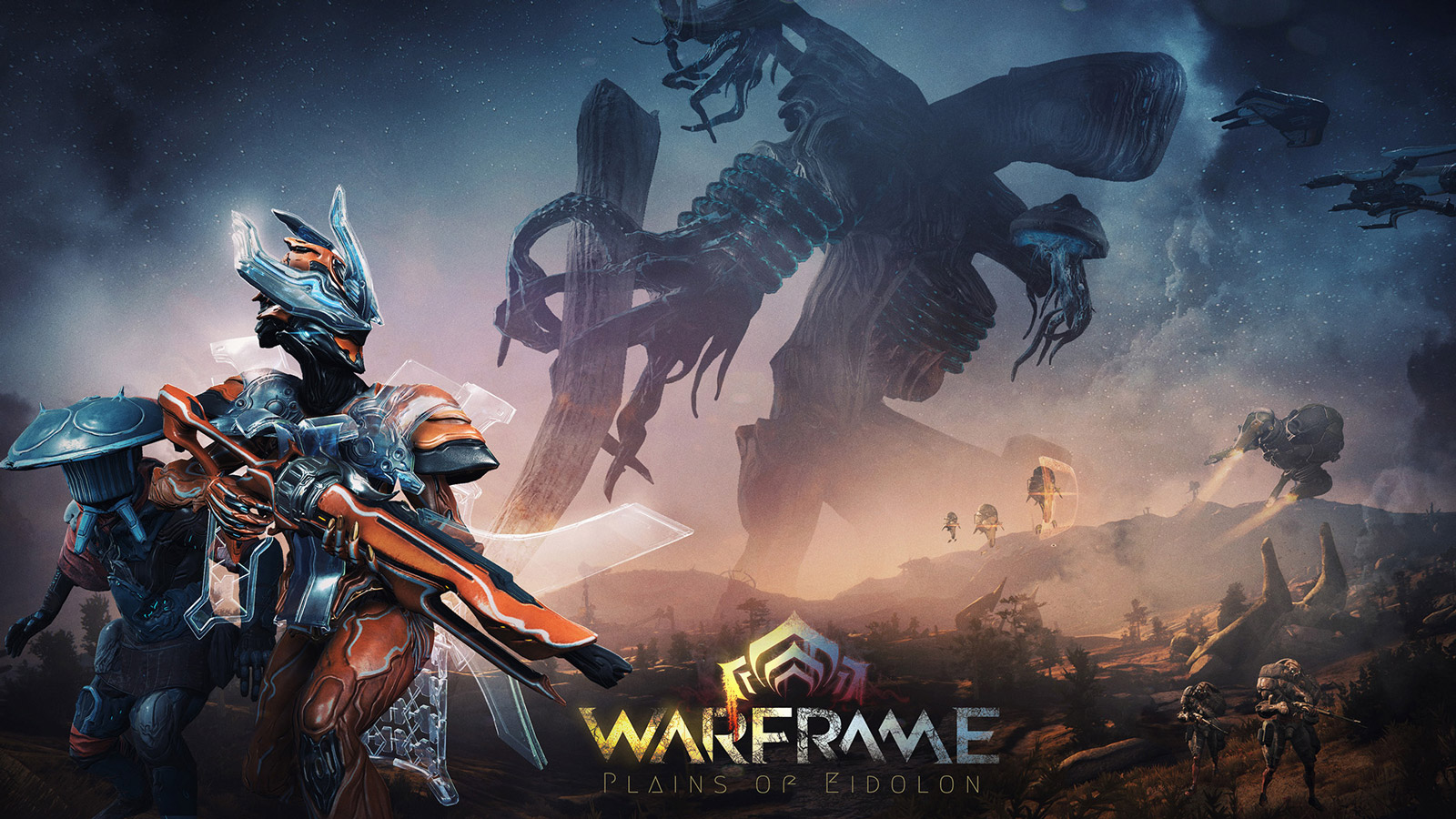 Warframe Wallpaper in 1600x900