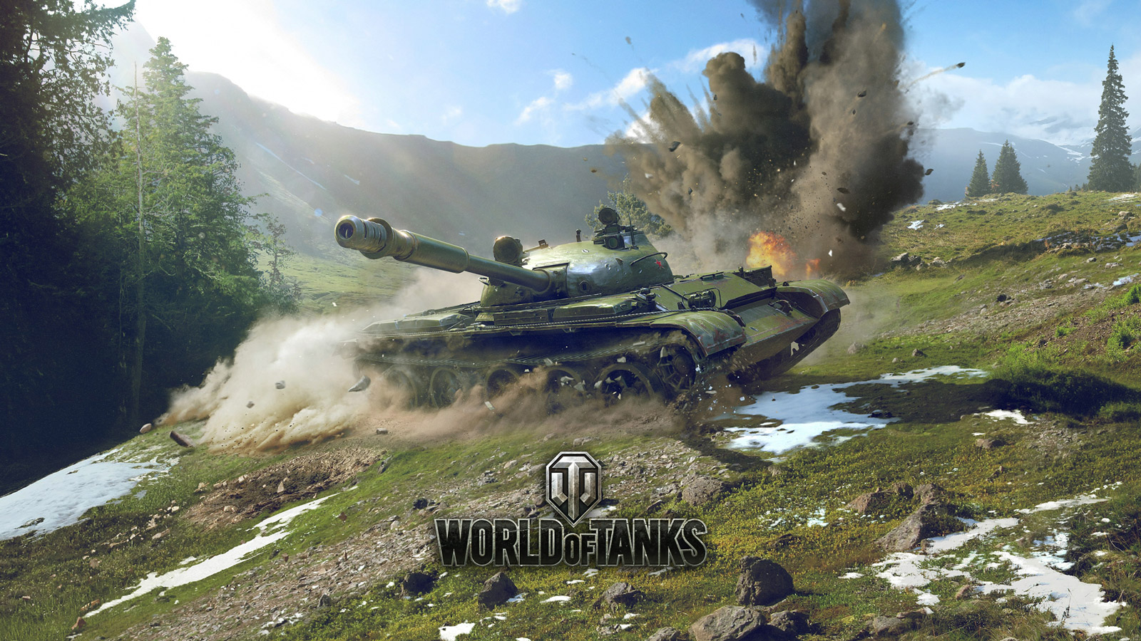 Free World of Tanks Wallpaper in 1600x900