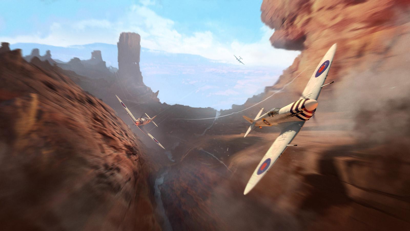Free World of Warplanes Wallpaper in 1600x900