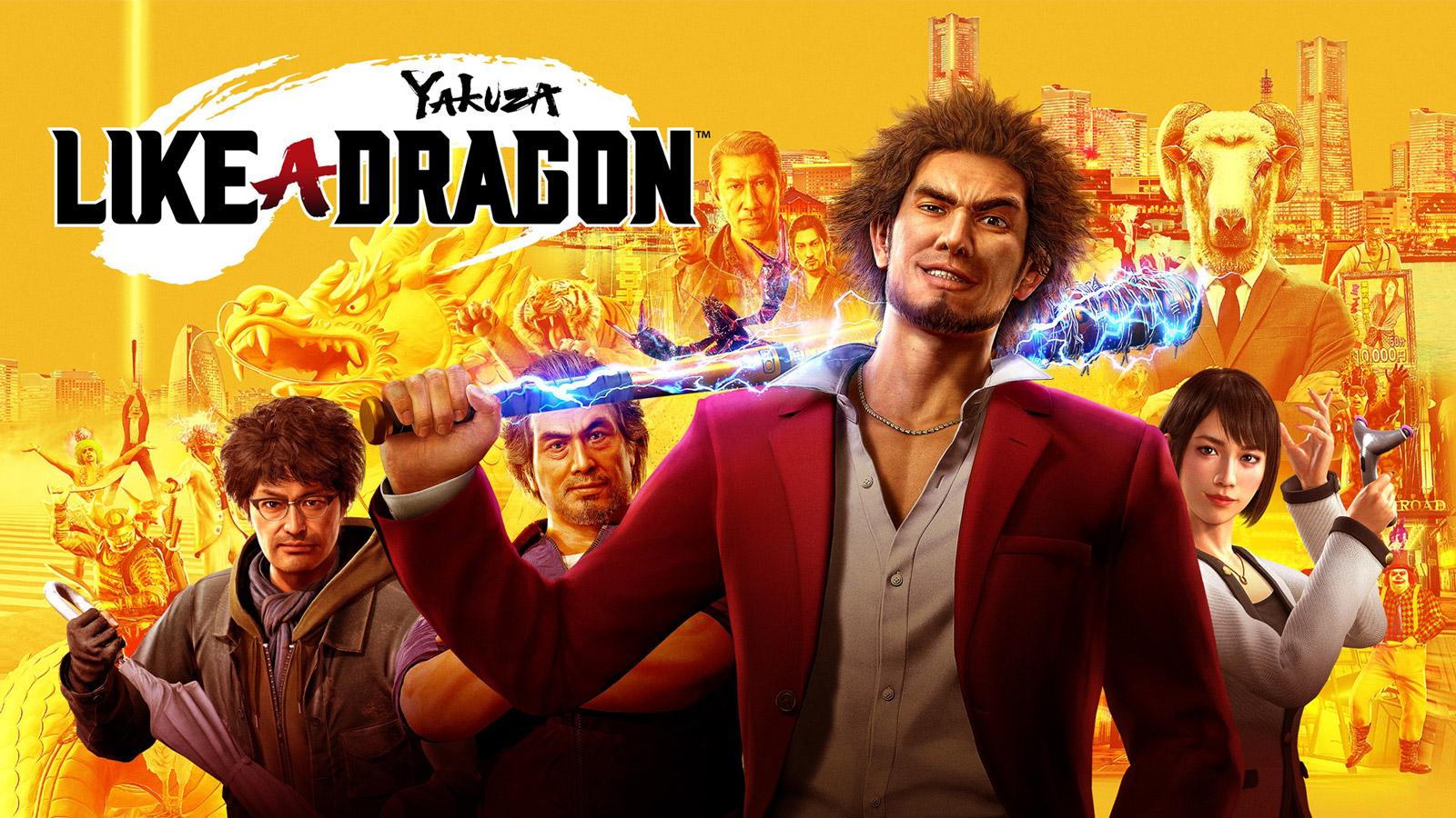 Yakuza: Like a Dragon Wallpaper in 1600x900