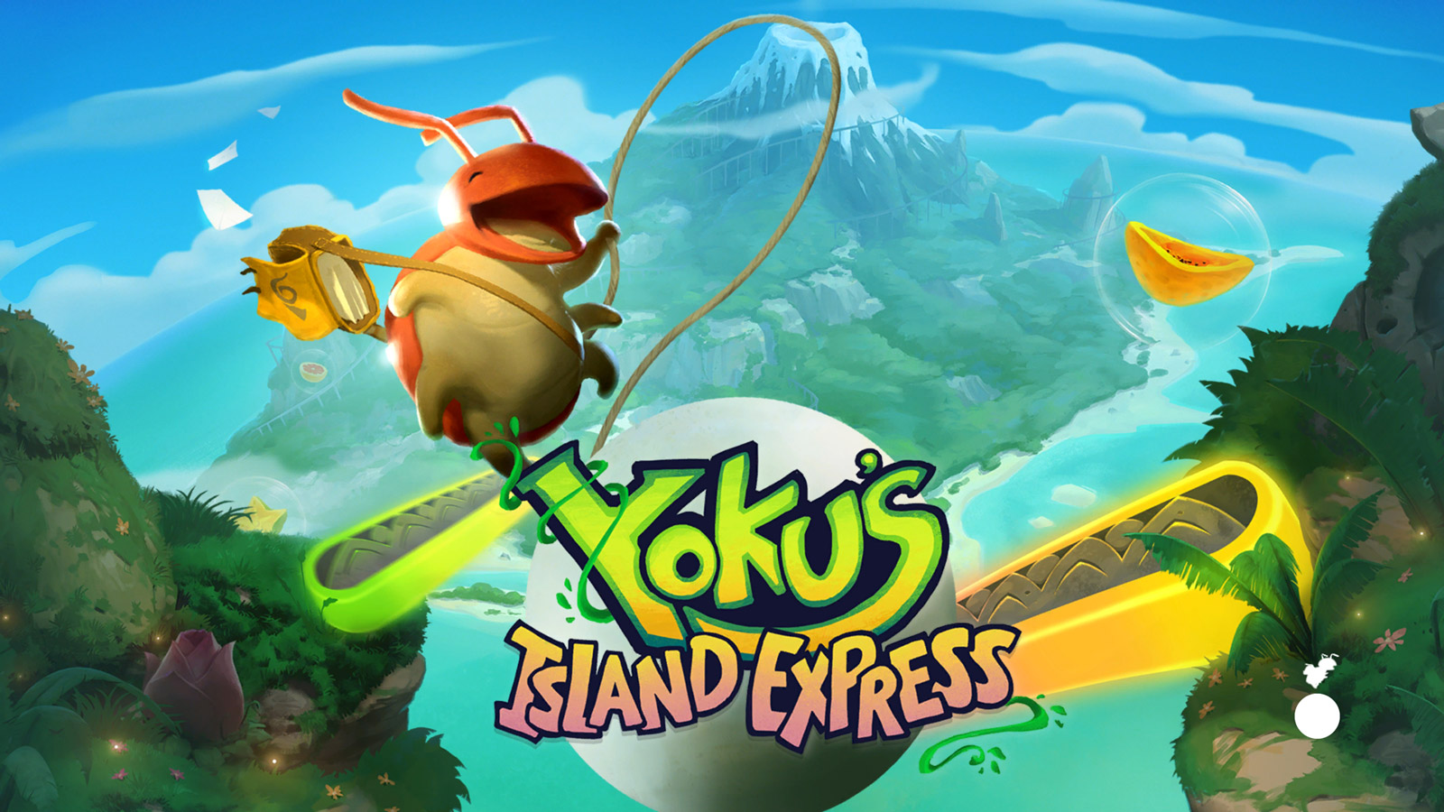 Free Yoku's Island Express Wallpaper in 1600x900