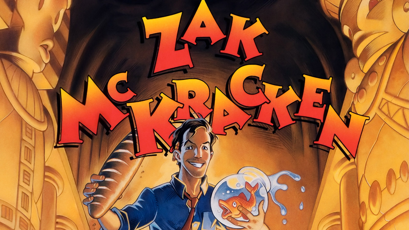 Free Zak McKracken and the Alien Mindbenders Wallpaper in 1600x900