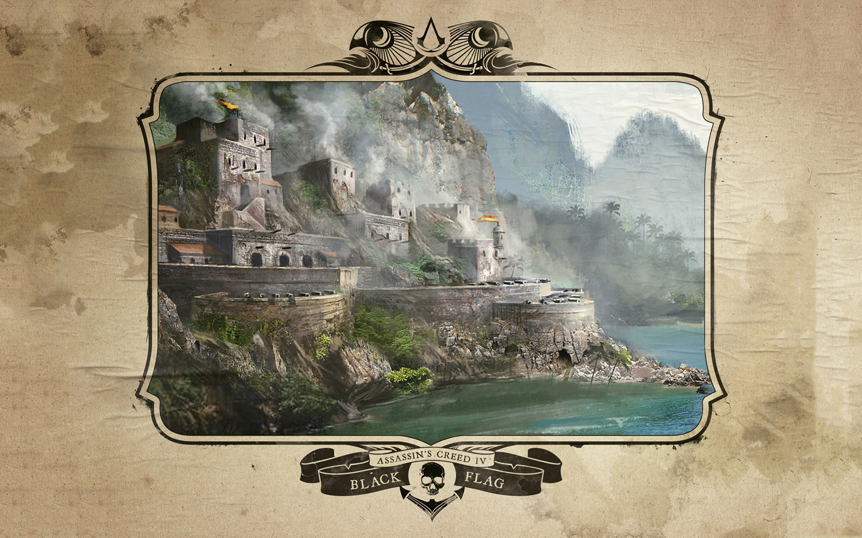 Free Assassin's Creed IV: Black Flag Wallpaper in 1680x1050