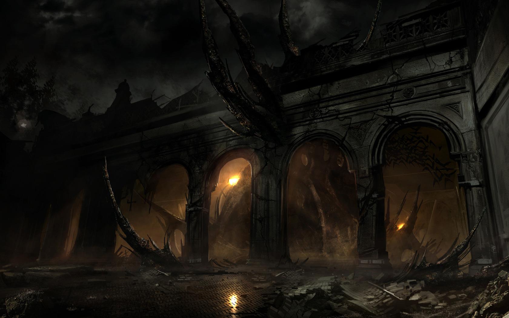 Alone in the Dark Wallpaper in 1680x1050