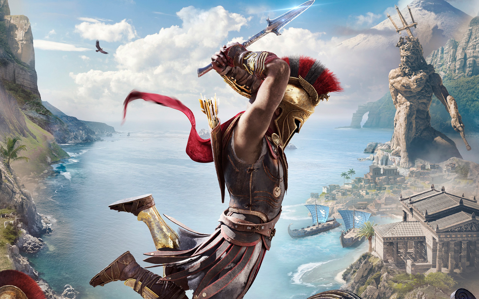 Free Assassin's Creed Odyssey Wallpaper in 1680x1050