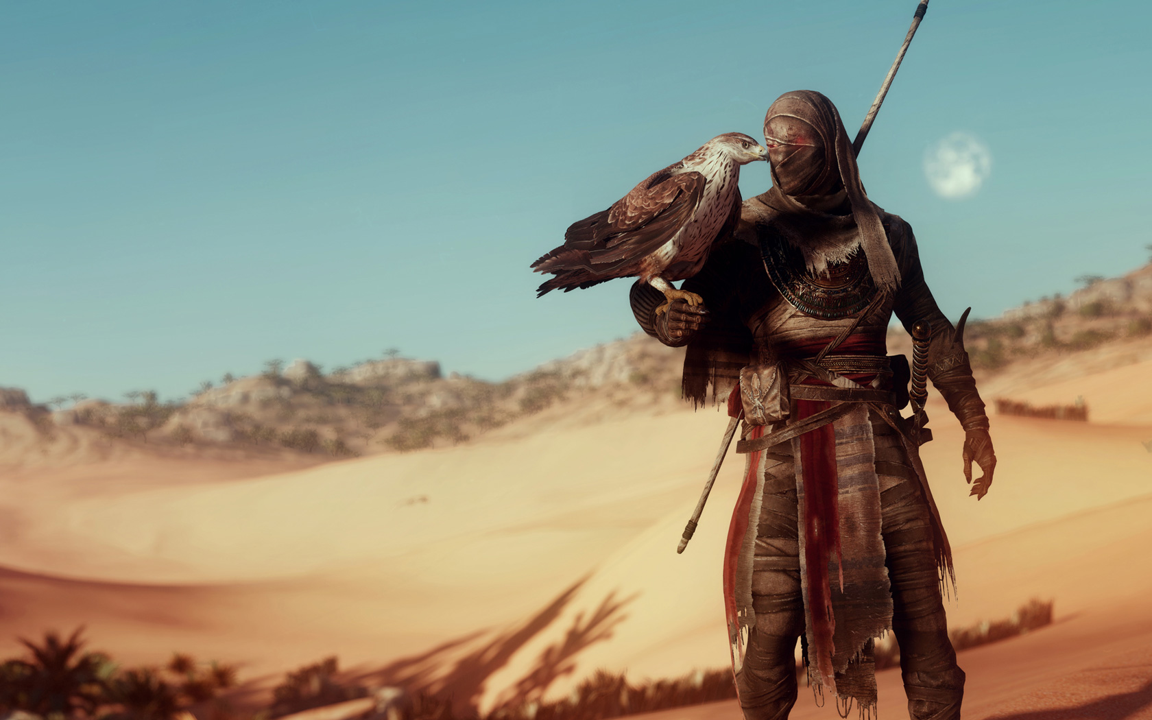 Free Assassin's Creed Origins Wallpaper in 1680x1050