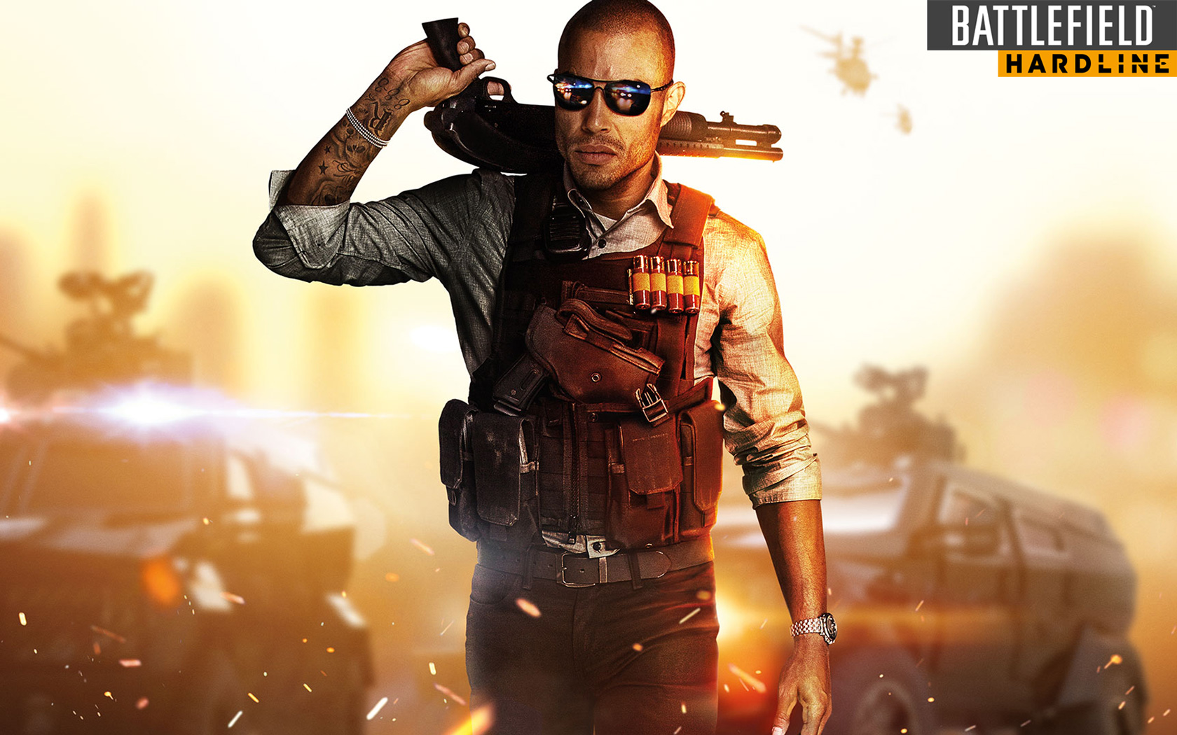 Free Battlefield: Hardline Wallpaper in 1680x1050