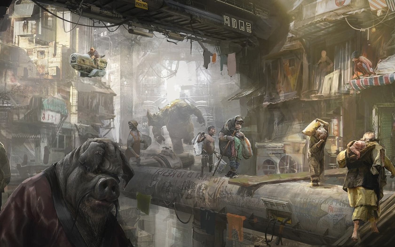 Free Beyond Good and Evil 2 Wallpaper in 1680x1050