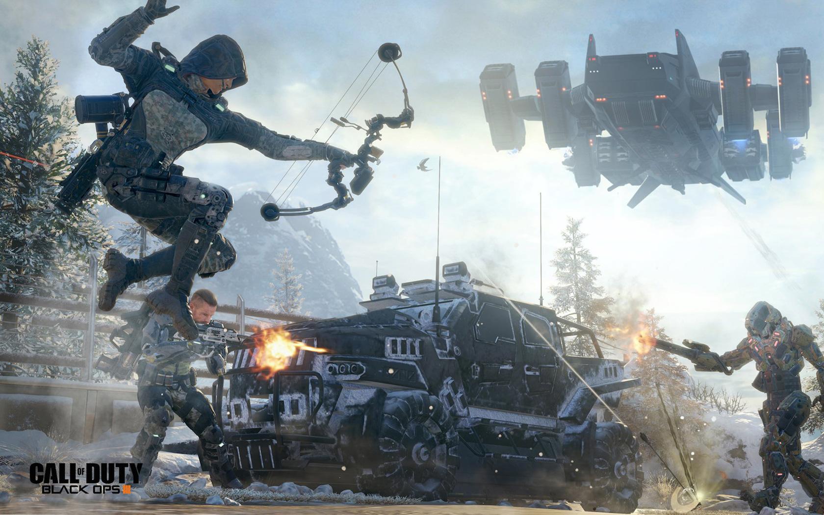 Free Call of Duty: Black Ops III Wallpaper in 1680x1050