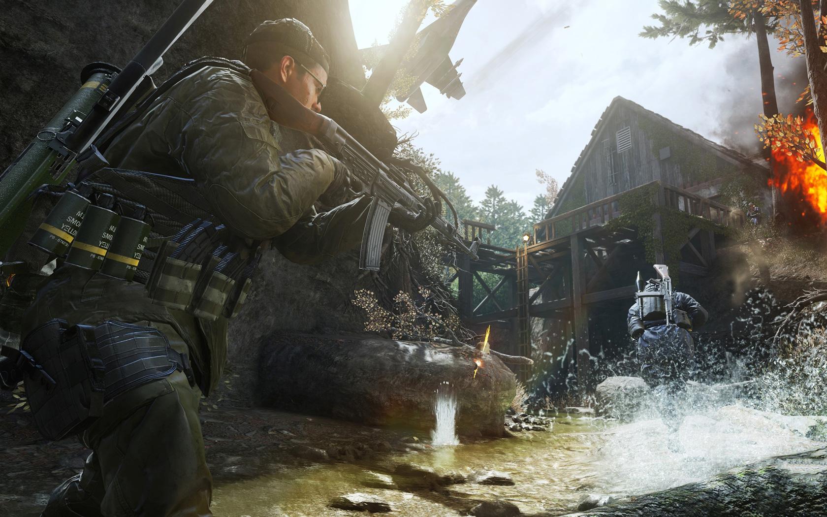 Free Call of Duty: Modern Warfare Wallpaper in 1680x1050