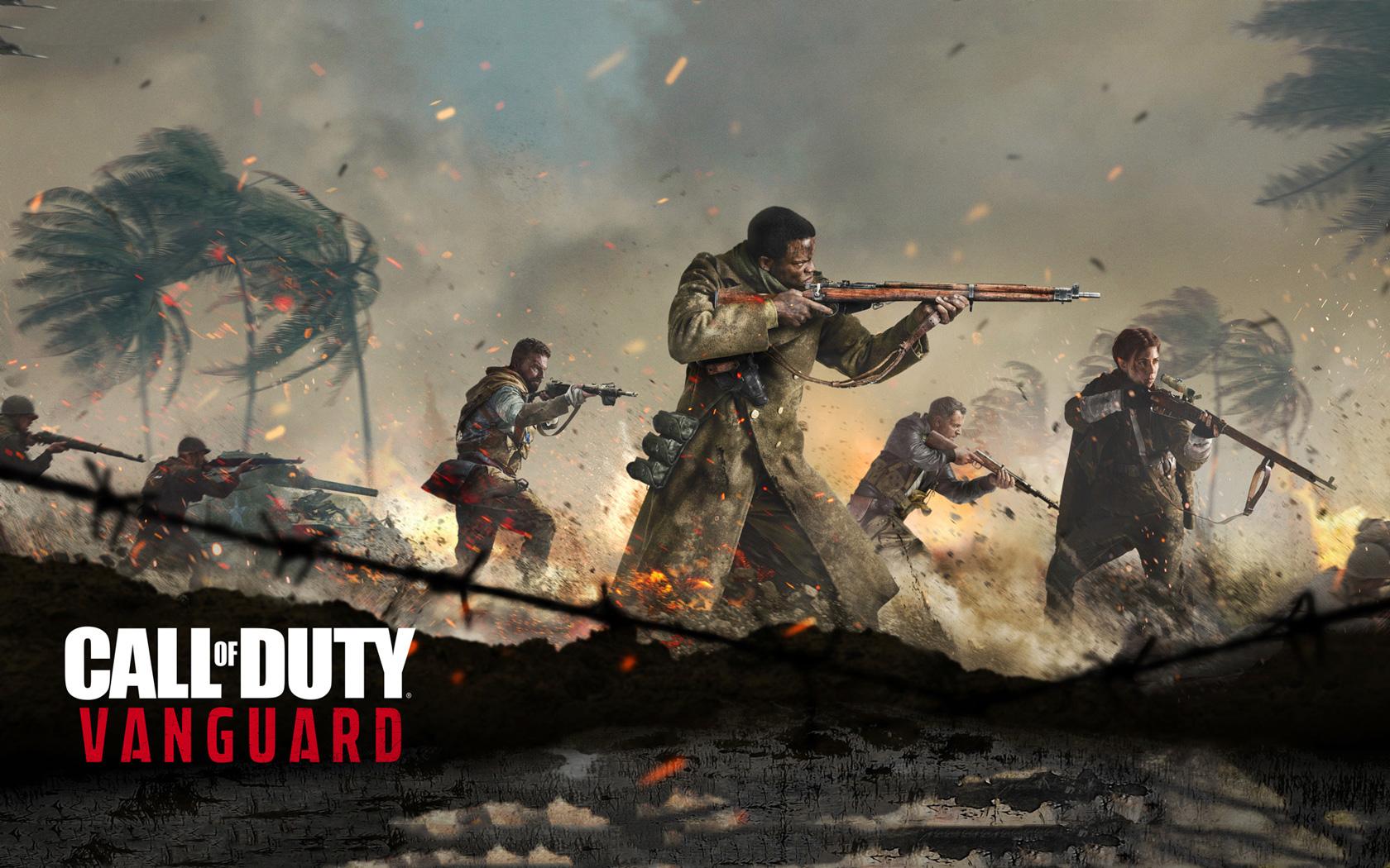 Free Call of Duty: Vanguard Wallpaper in 1680x1050