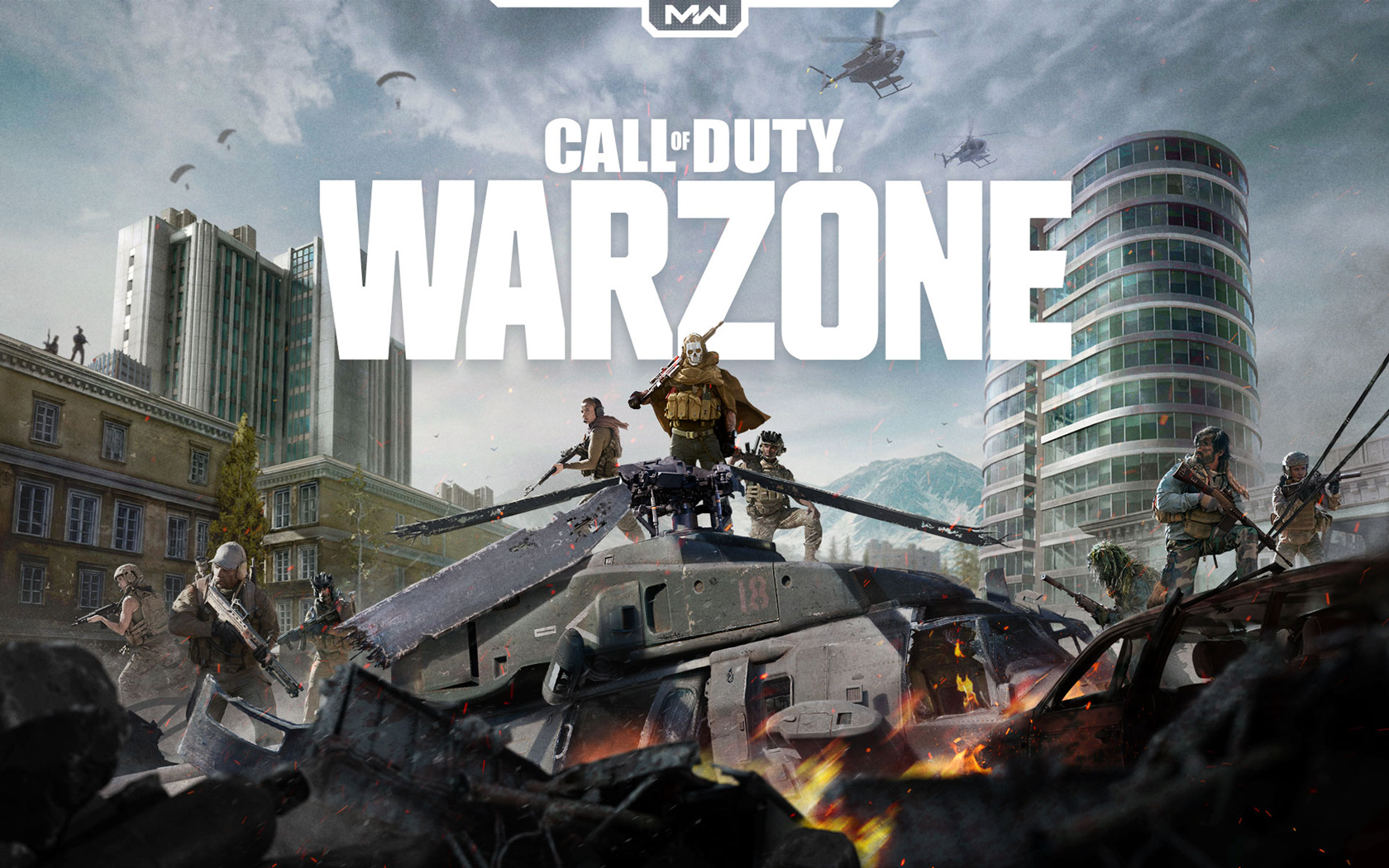 Free Call of Duty: Warzone Wallpaper in 1680x1050